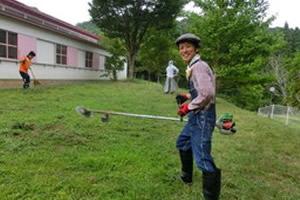 おやじの会:草刈り2015
