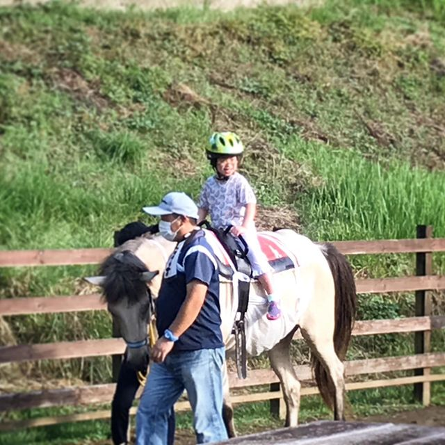 夏休み 乗馬体験