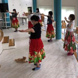 第4回 ゴスペルフラダンス教室(R02.09.11)開催