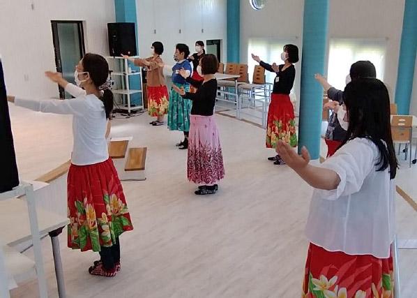 第8回ゴスペルフラダンス教室(R3.04.23)開催