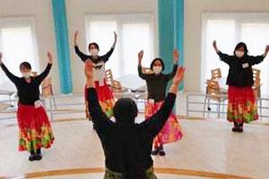 第3回 ゴスペルフラダンス教室 (02/02/28)